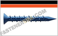 Titen® Phillips Flat Head Concrete Masonry Screws