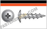 Wire-Lath Modified Truss-Head Screw
