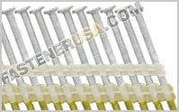 20-21 Degree Plastic Collated Nails