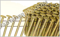 15 Degree Coil Roofing Nails
