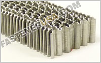 "25 Gauge 1"" Crown Corrugated Fasteners Sencor series"
