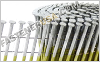 15° Wire Weld Coil Framing Nails