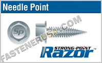 Hex Washer Head Razor Point