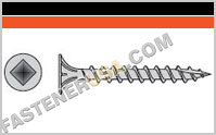 Fiber-Cement Screw