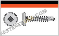 Self-Drilling Pancake-Head Screw
