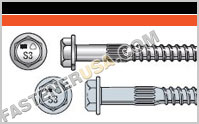 Strong-Drive ® SDS HEAVY-DUTY CONNECTOR Screw