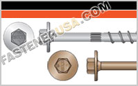 Strong-Drive ® SDWH TIMBER-HEX Screw