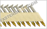 34-35° Paper Collated Metal Connector Nails