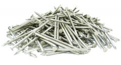 """1"""" x 15-GAUGE 2D RING 304 STAINLESS COMMON NAILS 25lb"""