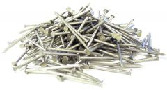 """1-1/2"""" x 12-GAUGE 4D SMOOTH 304 STAINLESS COMMON NAILS 25lb"""