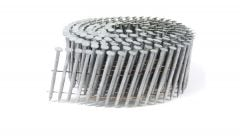 """1 3/4"""" x .093 RING A153-D HOT DIP COIL NAILS 15 DEGREE WIRE 3.6M Box"""
