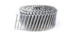 """1 3/4"""" x .093 RING A153-D HOT DIP COIL NAILS 15 DEGREE WIRE 1.8M SidePak"""