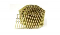 """2"""" x .083 RING GALVANIZED CONICAL COIL NAILS 15 DEGREE WIRE 14M Box"""
