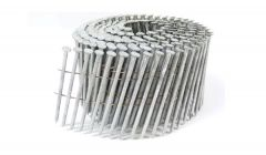 """2 1/2"""" x .093 RING A153-D HOT DIP COIL NAILS 15 DEGREE WIRE 3.6M Box"""