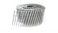 """2 3/16"""" x .093 RING A153-D HOT DIP COIL NAILS 15 DEGREE WIRE 1.8M SidePak"""