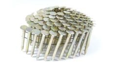 """1-1/2"""" RING GALVANIZED COIL ROOFING NAILS 3.6M JobPak"""