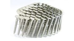 """1 1/2"""" RING 304 STAINLESS COIL ROOFING NAILS 600ct MiniPak"""