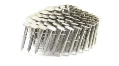 """1 1/4"""" RING 304 STAINLESS COIL ROOFING NAILS 600ct MiniPak"""
