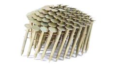 """1-3/4"""" RING GALVANIZED COIL ROOFING NAILS 3.6M JobPak"""