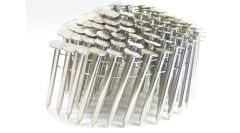 """1 3/4"""" SMOOTH 304 STAINLESS COIL ROOFING NAILS 600ct MiniPak"""