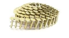 """3/4"""" SMOOTH GALVANIZED COIL ROOFING NAILS 7.2M Box"""