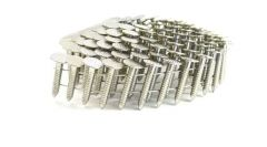 """7/8"""" RING 304 STAINLESS COIL ROOFING NAILS 600ct MiniPak"""