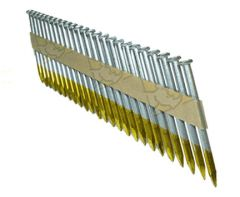 """2 1/2"""" x .148 SMOOTH GALVANIZED NAILS FOR POSITIVE PLACEMENT 2.5M Box"""
