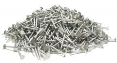 """2-1/2"""" x 10-GAUGE 8D SMOOTH 304 STAINLESS ROOFING NAILS 25lb"""