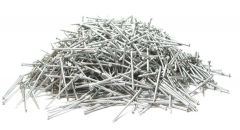 """2"""" x 13-GAUGE 6D RING 304 STAINLESS SIDING NAILS 25lb"""
